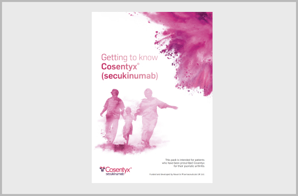 Image of Cosentyx digital patient pack