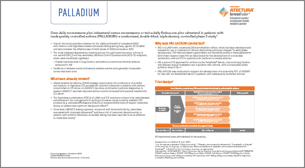 Screenshot for Fact sheet for PALLADIUM study