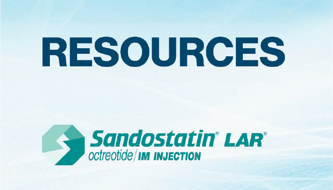 SANDOSTATIN LAR (octreotide acetate) Resources