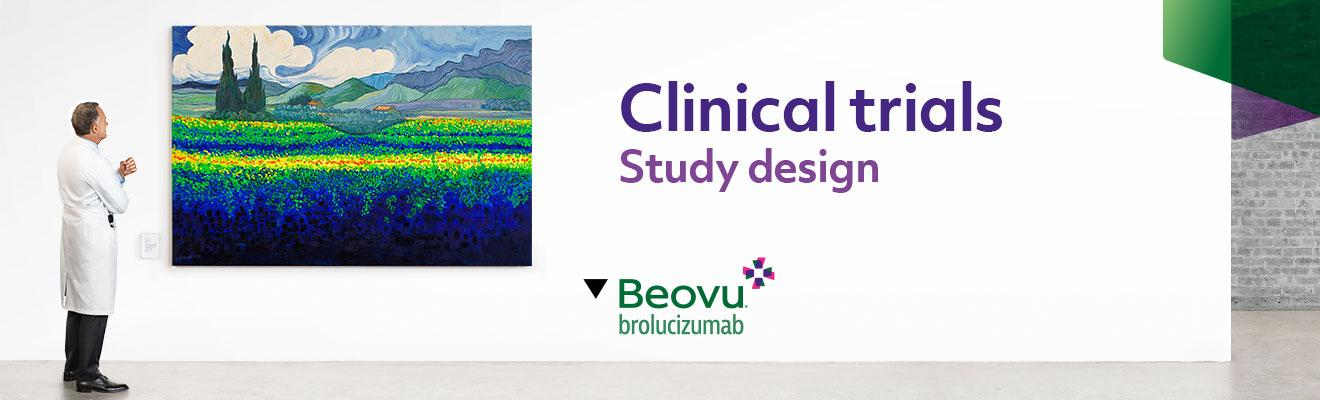 Top banner. Clinical trials - Study design