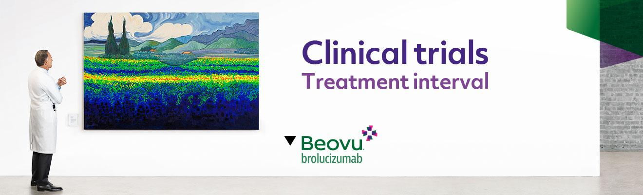Top banner. Clinical trials - Treatment interval