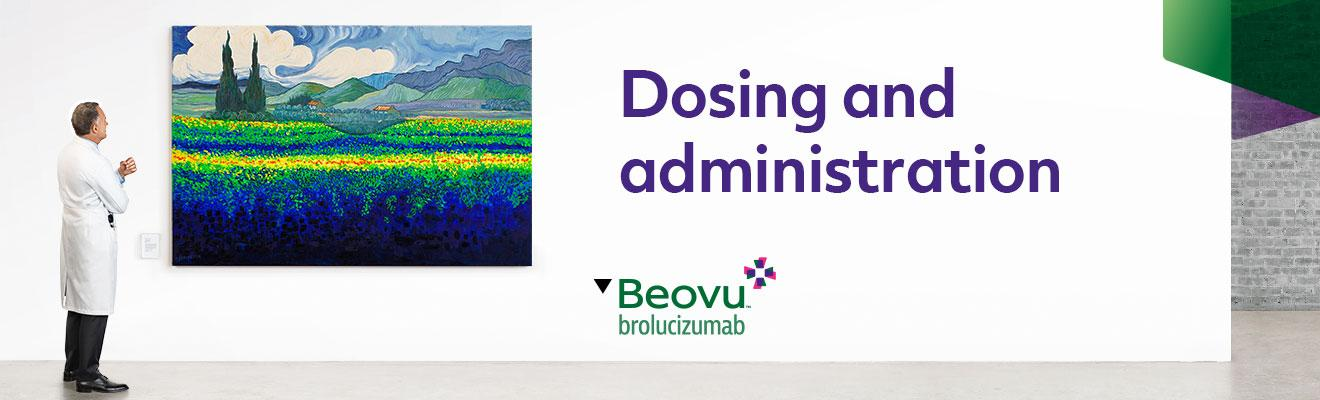Top banner. Dosing and administration