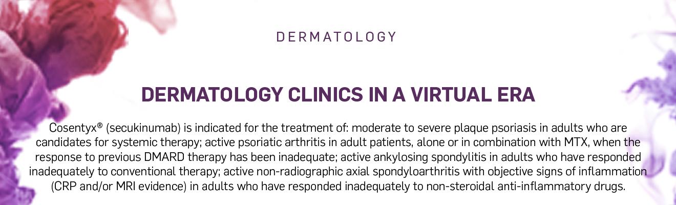 Dermatology clinics in a virtual era