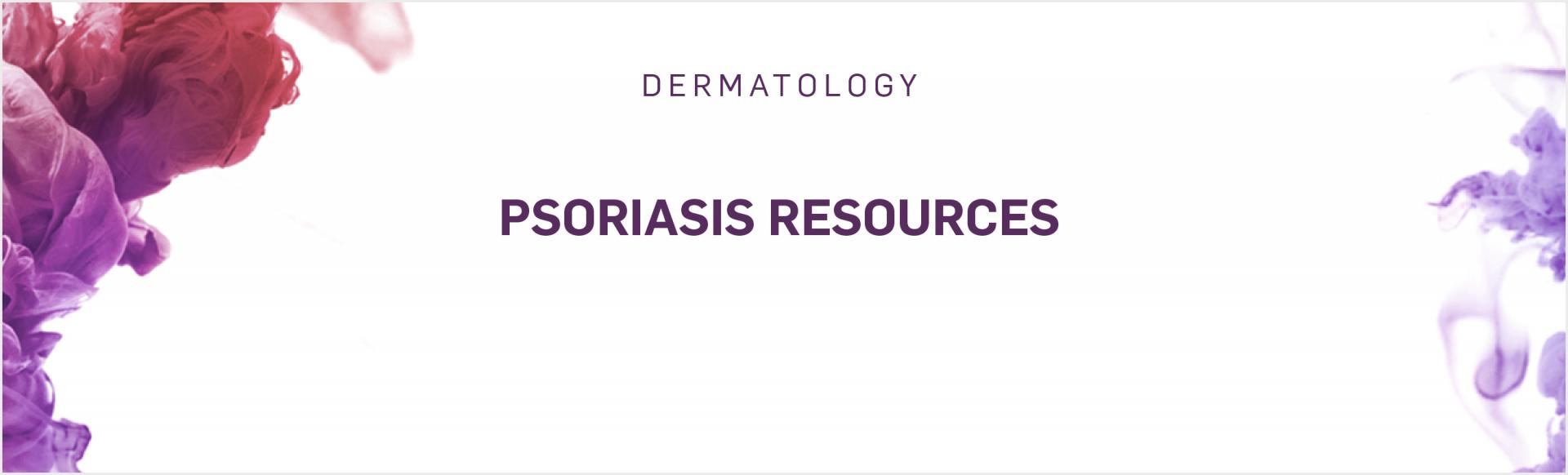 Top banner. Psoriasis resources for healthcare professionals