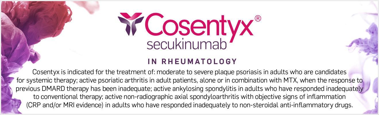 Top banner. Rheumatology