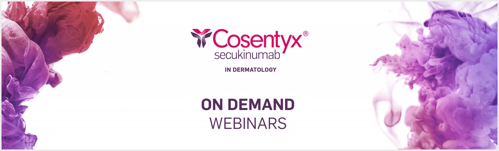Top Banner: Cosentyx Webinar