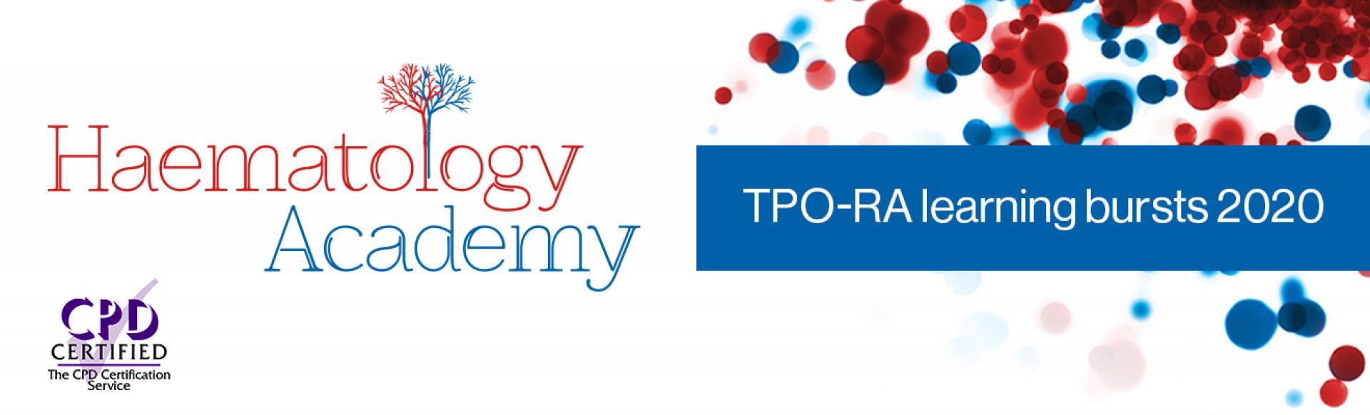 Haematology Academy – TPO-RA learning bursts 2020