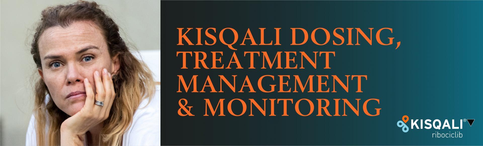 Woman headshot − KISQALI DOSING, TREATMENT, MANAGEMENT & MONITORING Dose adjustments