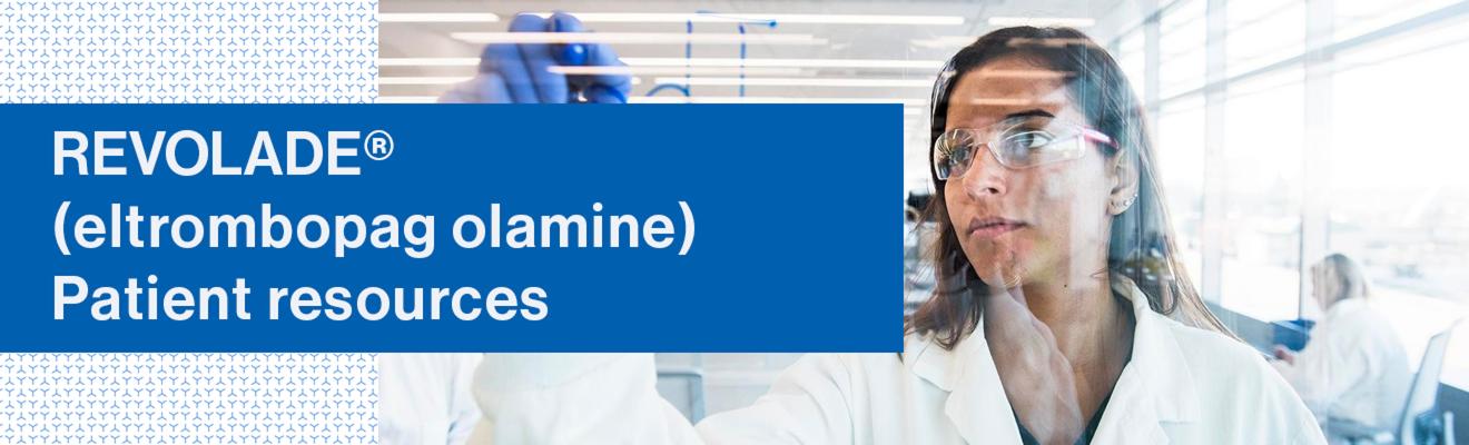 Top banner: patient resources