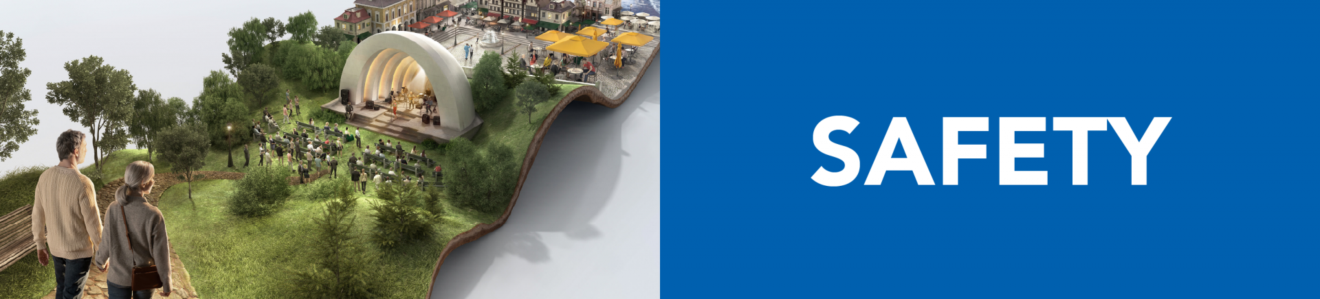 Top banner. Safety
