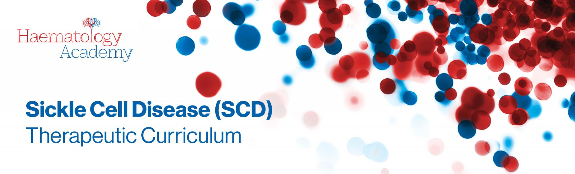 Top banner. Sickle Cell Disease (SCD) Therapeutic curriculum.