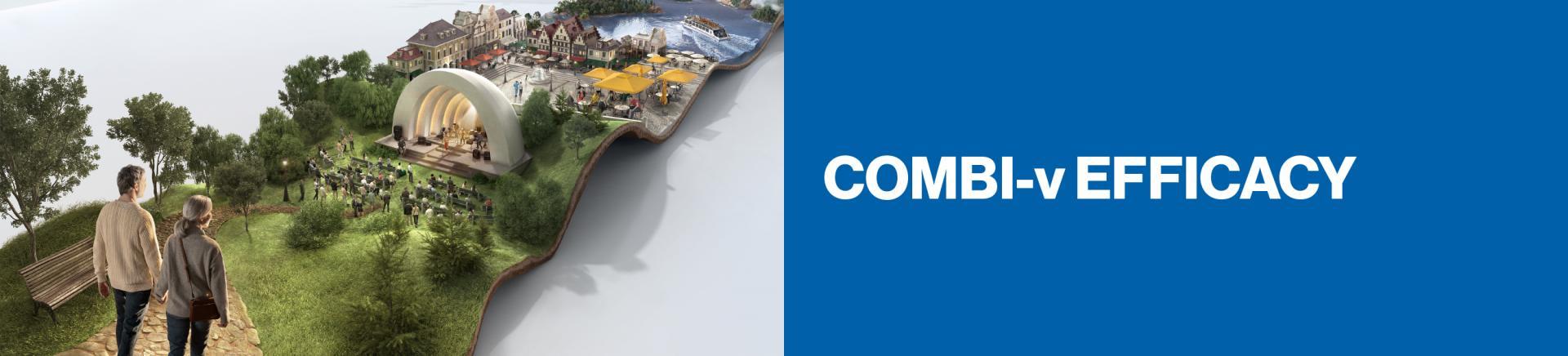 Top banner. COMBI-v Efficacy