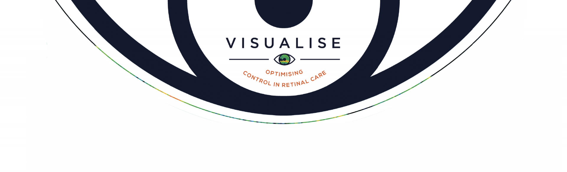 Top banner. Visualise. Optimising control in retinal care.