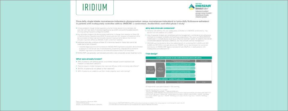 Iridium study