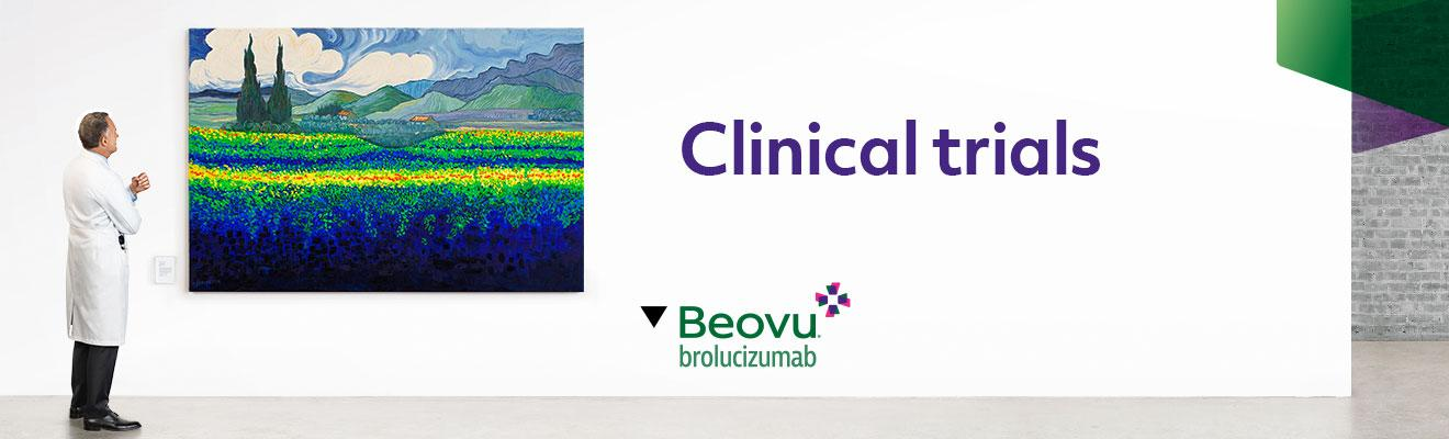 Top banner. Clinical trials