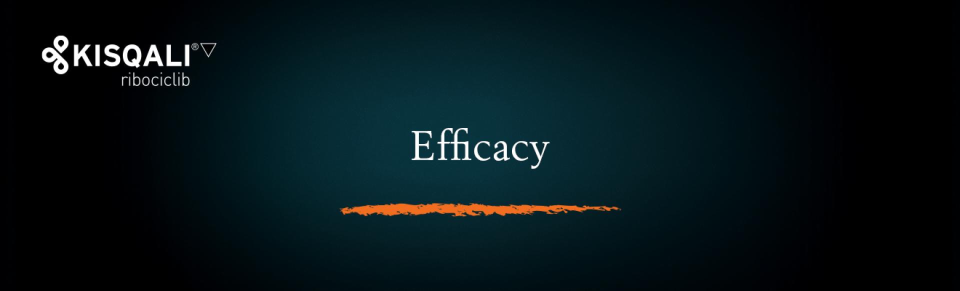 Top banner. Efficacy