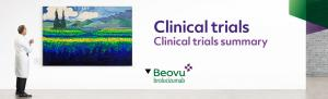 Top banner. Clinical trials - Clinical trials summary