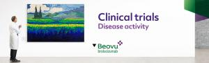 Top banner. Clinical trials - Disease activity