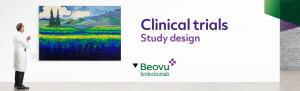 Top banner. Clinical trials - Study design