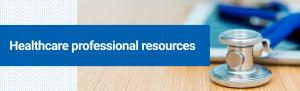 Top banner. Dermatology healthcare professionals resources