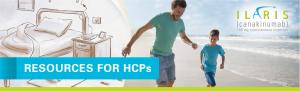 Top banner. Resources for HCPs