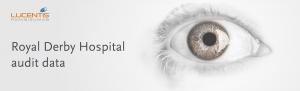 Top banner. Royal Derby Hospital audit data