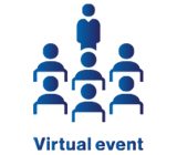 Virtual event icon